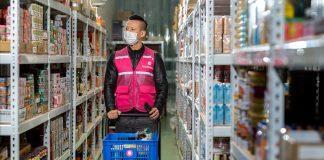 foodpanda launches 150th pandamart store, marking Asia's largest network of cloud grocery stores. Photo: pandamart Taiwan